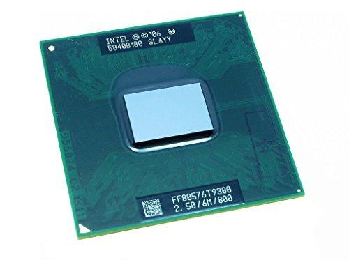 Intel Core 2 Duo T9300 SLAQG SLAYY 2.5GHz 6MB Mobile CPU Processor Socket P 478-pin Core 2 Duo T9300 Processor
