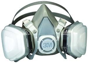3M 07193 Dual Cartridge Respirator Assembly,Organic Vapor/P95,Large