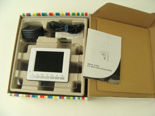 (Google Digital Picture PHOTOGRAPH,PHOTO Frame GTA-316 MIB MINT IN BOX PROMOTIONAL ITEM RARE )