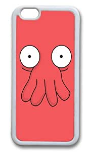 Apple Iphone 6 Case,WENJORS Awesome Dr Zoidberg Soft Case Protective Shell Cell Phone Cover For Apple Iphone 6 (4.7 Inch) - TPU White