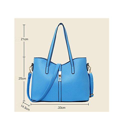 Bolsos Xagoo de la mujer de la vendimia del patrón del monedero de Crossbody de los bolsos de cuero del nuevo diseño del bolso de la bolsa de mensajero + + Cambio (Estilo 5) Estilo 1