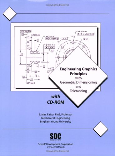 Engineering Graphics Principles With Geometric Dimensioning and Tolerancing (Projection Of Lines In Engineering Drawing Problems)