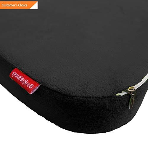 (Werrox Memory Foam Coccyx Seat Pad Cushion Lumbar Pain Relief Chair Pillow Wheelchair | Model CHRCSHN - 134 |)