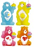 Care Bears Rainbow Sculpted Party Candles 4 Pack