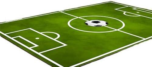 HYRL Alfombra de Campo de fútbol para Sala Alfombra de Piso