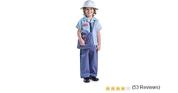 Dress Up America - Conjunto de Disfraz de Cartero para niños ...