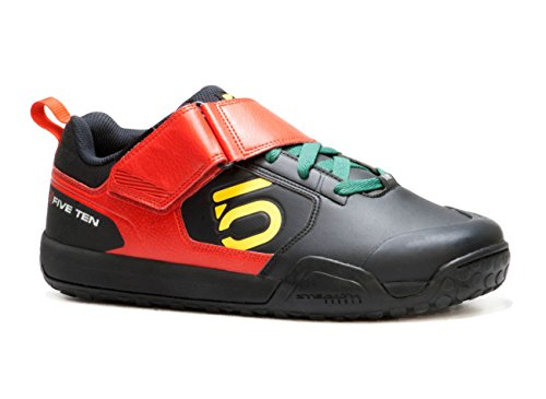 Five Ten Men's Impact VXI Clipless Bike Shoe, Rasta, 10.5 M US