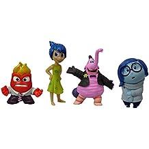 Disney/Pixar Inside Out 4 Piece Figure Set - Sadness, Joy, Anger and Bing Bong