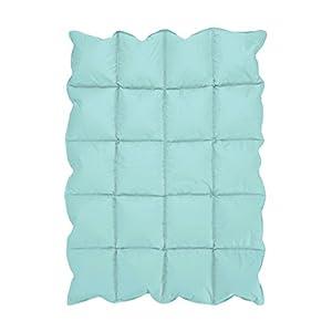 Turquoise Blue Baby Down Alternative Comforter/Blanket for Crib Bedding