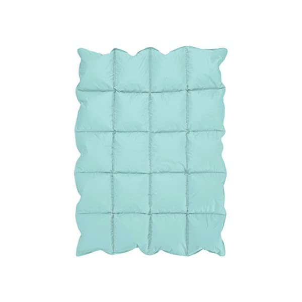 Turquoise Blue Baby Down Alternative Comforter/Blanket for Crib Bedding