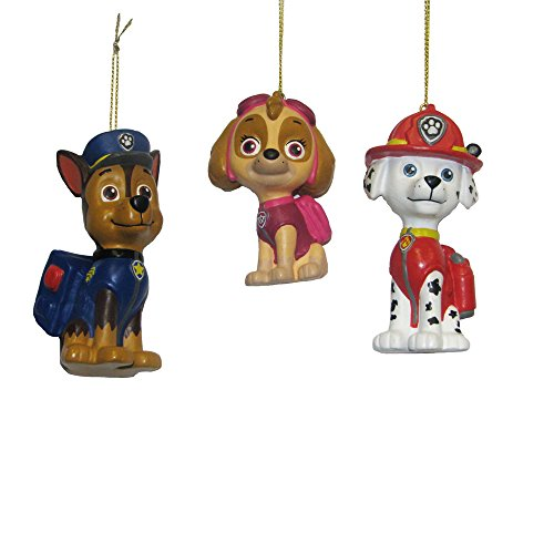 Kurt Adler Paw Patrol Ornament (Set of 3)