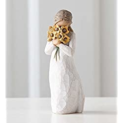 Willow Tree hand-painted sculpted figure, Warm Embrace