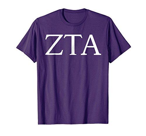 Zeta Tau Alpha Shirt College Sorority Fraternity Tee