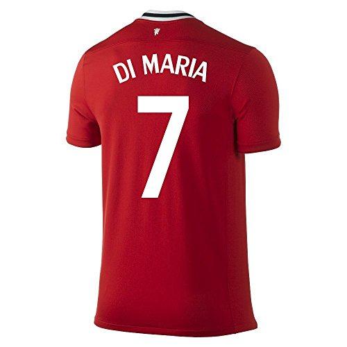 コントラスト必要条件処方NIKE DI MARIA #7 Manchester United Home Soccer Jersey/サッカーユニフォーム マンチャスター?ユナイテッドFC ホーム用 背番号7 ディ?マリア