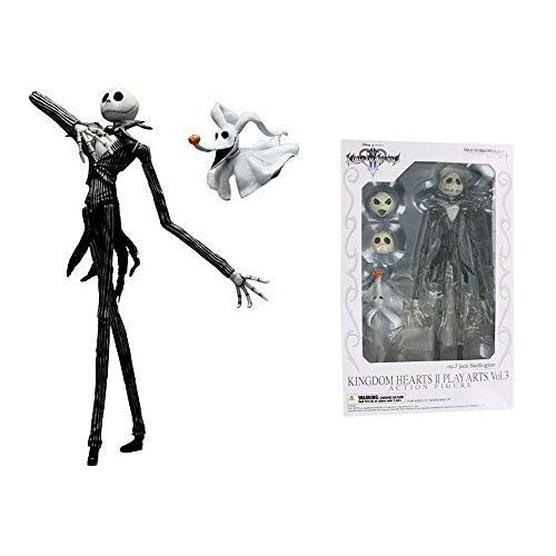 Square Enix Kingdom Hearts 2 Jack Skellington Action Figure