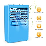 Personal Space Air Conditioner, 4 in 1 Mini USB Personal Space Air Cooler, Humidifier, Purifier, Desktop Cooling Fan with 3 Speeds for Office Household Out