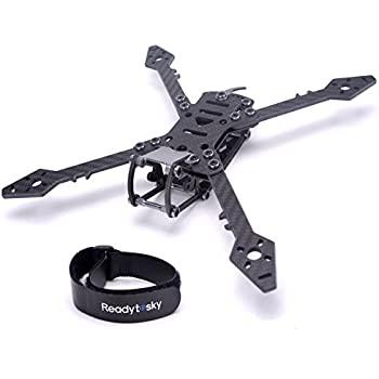 Amazon.com: Readytosky 235mm FPV Racing Drone Frame Carbon Fiber ...