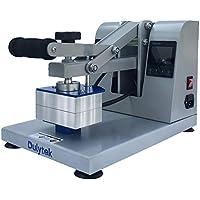"Dulytek DM1005 Manual Heat Press Machine - 3"" x 5"" Dual Heat Plates - Touch-Screen Control Panels - Bonus Accessories - USA Made"