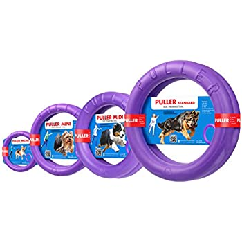 Puller Standard Two Rings not just toy for dogs Active toy for dogs Fitness toys for dogs Ideal for medium and large breeds Dog