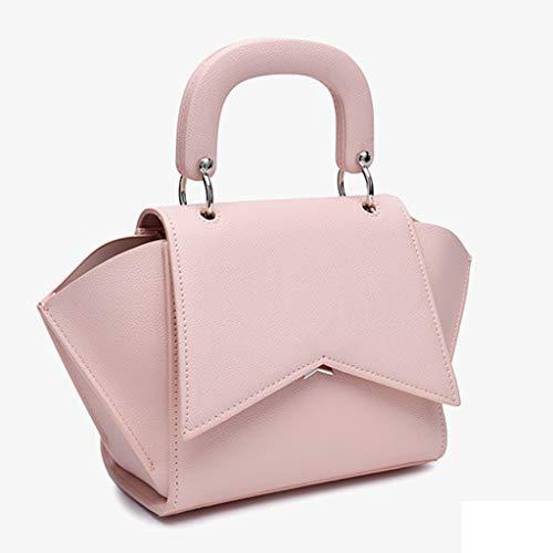 Pour Shopping Détachable Sac Swing Sacs Main Solide Mode Femmes Pink À Bandoulière Ailes Couleur Femme Dame ggHq0EWR