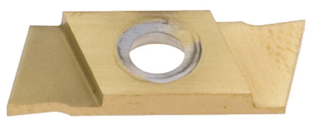 Nikcole GP-1.5-R-R-TIN .059''/1.5mm TIN Groove+ Cut-Off Insert. Mini grooving system.