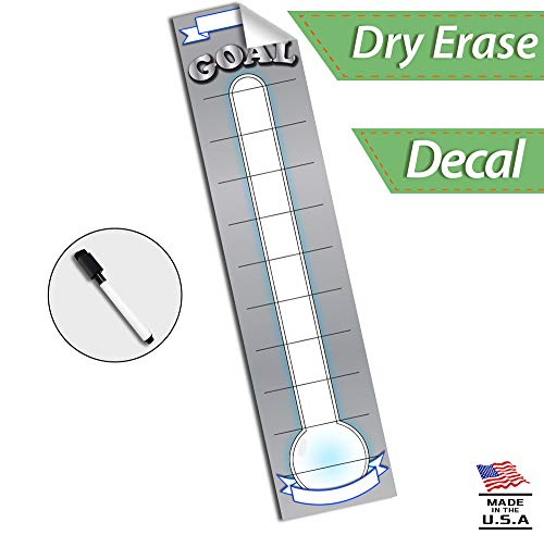 Goal Setting Fundraising Donation Thermometer - 48