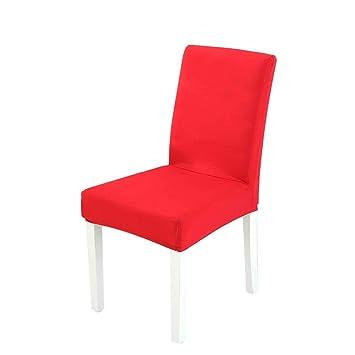 Umiwe Pack de 4 Fundas para sillas Comedor, Lavable Extraíble Comedor Asiento de la Silla del Asiento Cubre para casero Bouquet de la Boda, Hotel ...