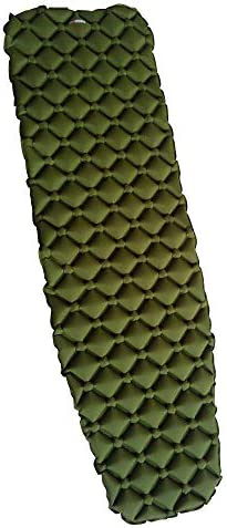 NTK Sleeping PAD Camping Inflatable Sleeping Pad Large, Ultralight 14.5 OZ, Sleeping Mat for Backpacking, Hiking Air Mattress, Lightweight Compact Hunter Green and Woodland Camo.