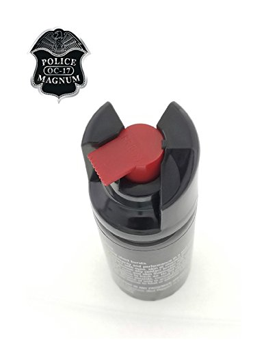 PEPPER SPRAY POLICE MAGNUM 3 Pack 2oz Safety Lock with Practice Spray by Police (Image #7)