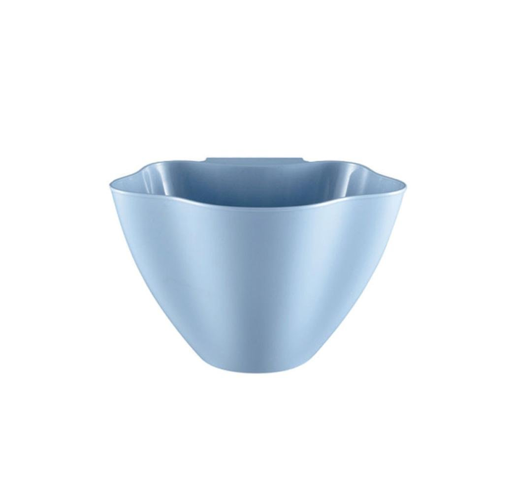 samLIKE Neue Kü chenschrank Tü r Hä ngen Mü ll Mü lleimer Kann Container TOP (Blau)