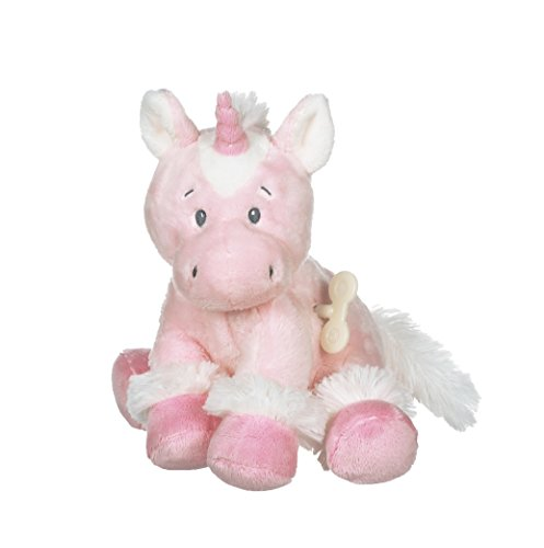 - Ganz Baby 8 inches Plush Stuffed Toy Sweet Iris Unicorn Wind-Up Waggle Head BG3917