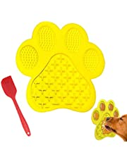 Dog Licking Mat for Anxiety Peanut Butter Slow Feeder Dog Bowls Dog Licking Pad with Strong Suction to Wall for Pet Bathing,Grooming,and Dog Training