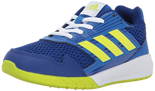 adidas Kids' Altarun Running Shoe, Mystery Ink/Semi Solar Yellow/Blue, 1 Medium US Little Kid