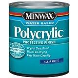 Minwax Matte Crystal Clear Polycrylic 1 qt.