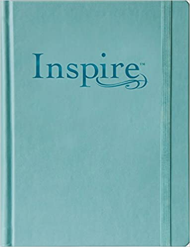 Inspire Bible Large Print NLT The For Coloring Creative Journaling Tyndale 9781496419859 Amazon Books
