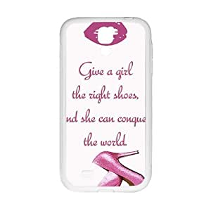 HUAH Pink high-heeled shoes Cell Phone Case for Samsung Galaxy S4