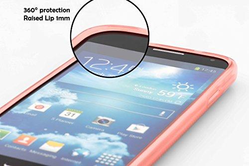 Cadorabo - Cubierta protectora Apple iPhone 4 / 4S de silicona TPU en diseño Candy - Case Cover Funda Carcasa Protección en VERDE-PASTEL-CANDY CANDY-ROSA