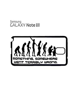 Something Somewhere Went Wrong Mobile Cell Phone Case Samsung Note 3 White