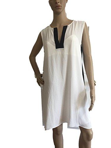 bcbg sleeveless v neck dress - 2