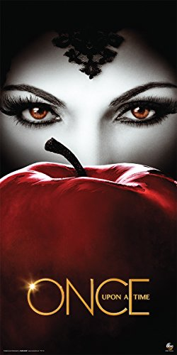 Culturenik Once Upon a Time (Third Series) Evil Queen Regina Apple Fantasy Drama Fairy Tale TV Television Show Print (Unframed 12x24 Poster)