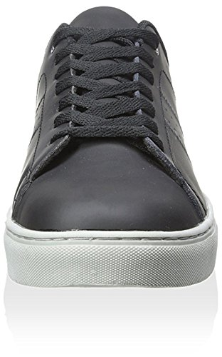 Lugz Mens Crosscourt Lowtop Sneaker Black/Grey sdmAvKnVB