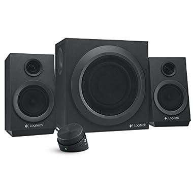 Logitech Z333 80 Watts Multimedia Speakers (980-001203)