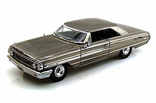 1964 Ford Galaxie 500, Black Chrome - Greenlight Men In Black 3, 12860 - 1/18 Scale Diecast Model Toy Car