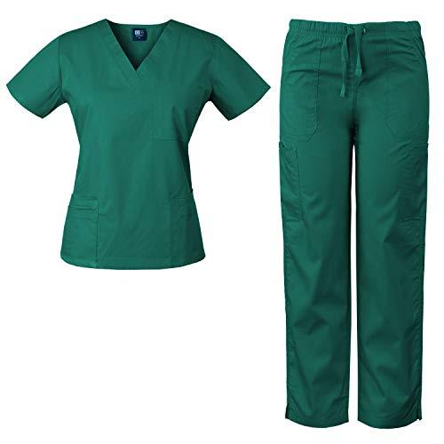 1f8bc66d449 Medgear Womens Scrubs Set Medical Unifor.