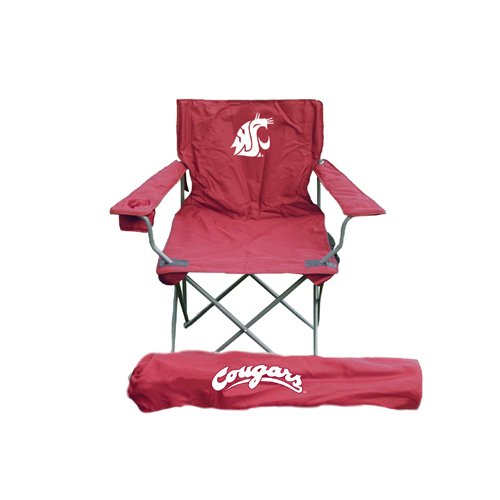 Rivalry Distributing Washington State Cougars Ncaa Ultimate Adult Tailgate Chair