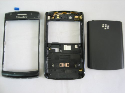 (Full Cover Door Housung Case Fascia Plate for BlACKBERRY 9550 STORM 2 II TS ~ Mobile Phone Repair Parts Replacement)