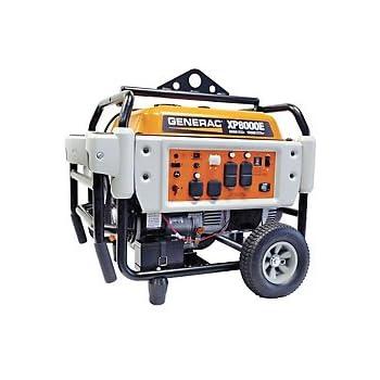 Generac 5931, 8000 Running Watts/10000 Starting Watts, Gas Powered Portable Generator