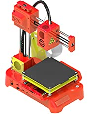 Rainbowrock K7 Desktop Mini 3D Printer 100 * 100 * 100mm Printing Size for Kids Student Education(US Plug)