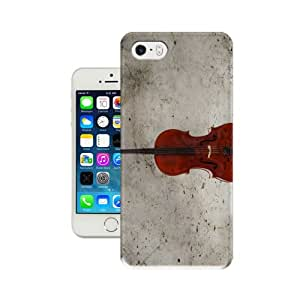 Randi''s iPhoneCase Smart Style Music Series Violin (Gray Shading) Phone Case/Shell for IPhone 5/5S