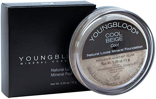 YOUNGBLOOD Natural Loose Mineral Foundation - 0.35 Oz, Color Beige